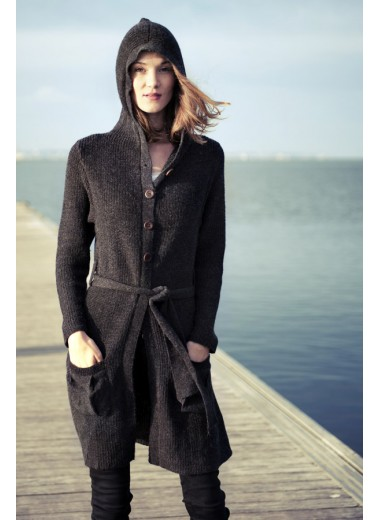 Manteau maille Rosemarie